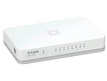 D-Link DGS-1008A/D2A L2 Unmanaged Switch with 8 10/100/1000Base-T ports, 8K Mac address, Auto-sensing, Plastic case