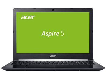 """ACER Aspire A515-51G Obsidian Black (NX.GPCEU.037) 15.6"""" FullHD (Intel® Core™ i5-7200U 2.50-3.10GHz (Kaby Lake), 8Gb DDR4 RAM, 256Gb SSD, GeForce® MX150 2Gb DDR5, w/o DVD, WiFi-AC/BT, 4cell, 720P HD Webcam, RUS, Linux, 2.2kg)"""