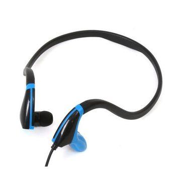 Freestyle FH1019BB  In-ear earphones + mic sport, black/blue[42442]