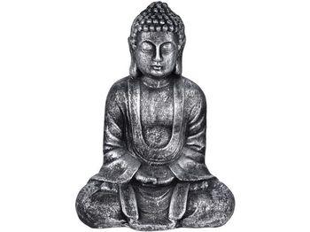"Сувенир ""Будда сидящий"" 35cm, керамика, серый"