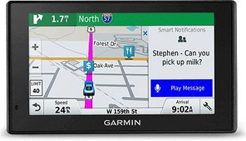 """GARMIN DriveSmart 51 LMT-D, Licence map Europe+Moldova, 5.0"""" LCD (480*272), MicroSD, Bluetooth, WiFi, Hands-free calling, Junction view, Lane assist, Smart notifications,Lifetime traffic updates, Battery life up to 1 hours, 170.8g"""