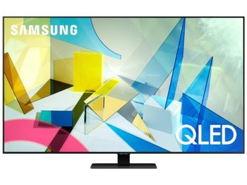 "55"" TV Samsung QE55Q80TAUXUA, Silver (SMART TV)"