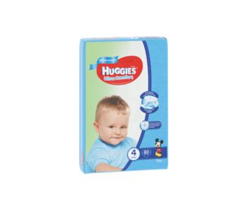 купить Подгузники для мальчиков Huggies Ultra Comfort Giga 4 (8-14 кг)  80 шт. в Кишинёве