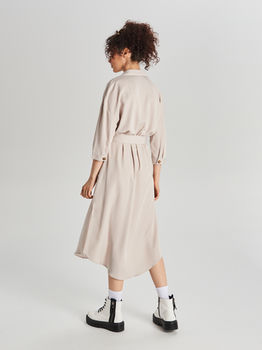 Платье CROPP Бежевый ww045-84x