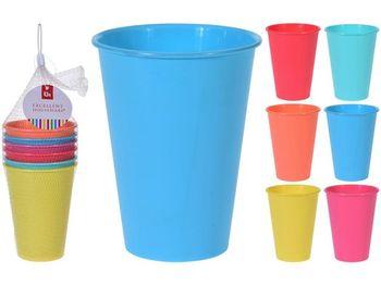 Набор стаканов EH 6шт, 450ml, 6 цветов