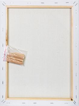 Холст на подрамнике Малевичъ, хлопок 280 гр, 20х20 см