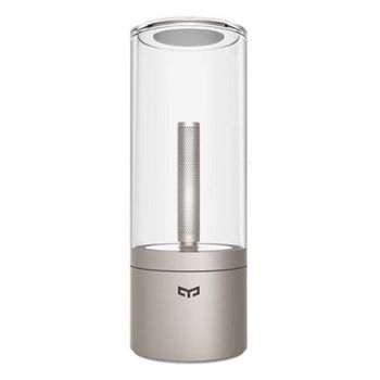 "XIAOMI ""Yeelight Candela Smart Mood Candlelight"", Silver, Smart Candle, Color temperature 1800K, Bluetooth, Battery 2100mAh, Working time 8 hours, Luminous flux 0.3-13lm"