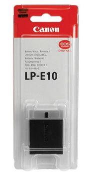 Battery Pack Canon LP-E10, 860mAh, 7.4V, Li-Ion Batteries for EOS 1100D, EOS Rebel T3, EOS Kiss X50