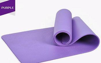 Коврик для йоги и фитнеса 183x61x1см+Чехол