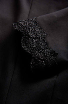 Пиджак ORSAY Чёрный