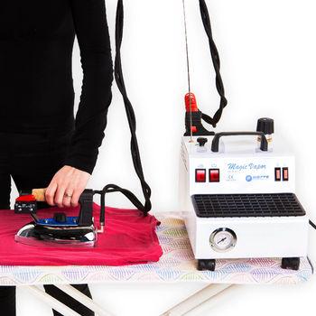 Пароочиститель Magic Vapor 2.4 l, 1300W, 4,8bar  с утюгом и аксессуарами для паровой чистки
