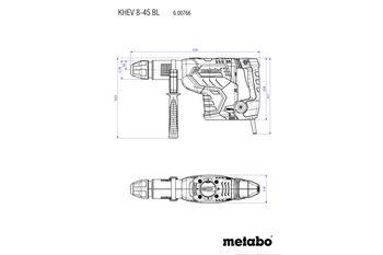 купить Перфоратор комбинированный Metabo KHEV8-45 BL в Кишинёве