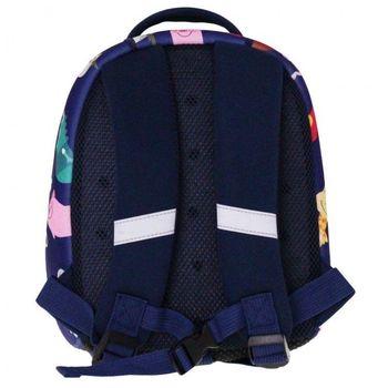 """Рюкзак для дошкольников """"Зоопарк"""" КЛАСС I синий"""