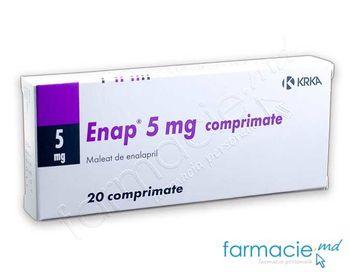 купить Энап, табл. 5 мг N20 в Кишинёве