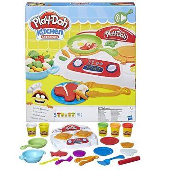 """Набор пластилина """"Кухонная плита"""", код 41749"""