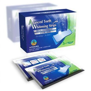 купить Отбеливающие Полоски Advanced Teeth Whitening Strips в Кишинёве