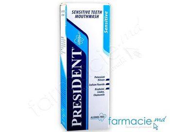 купить Ополаскиватель для полоскания рта President Sensitive 250 мл в Кишинёве