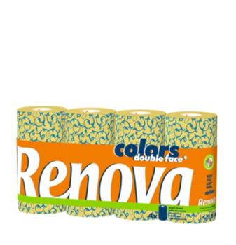 cumpără RENOVA Prosoape de hârtie Deco dublă față (4) în Chișinău