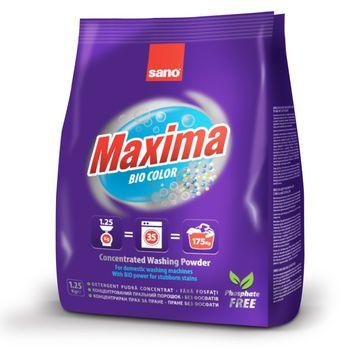 купить SANO MAXIMA BIO стиральный порошок  (1.25кг) 295343 в Кишинёве