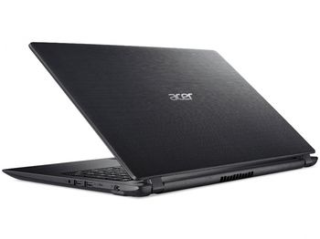 "ACER Aspire A315-31 Obsidian Black (NX.GNTEU.016) 15.6"" HD (Intel® Pentium® Quad Core N4200 up to 2.50GHz (Apollo Lake), 4Gb DDR4 RAM, 1.0TB HDD, Intel® HD Graphics 620, w/o DVD, WiFi-AC/BT, 2cell, 0.3MP CrystalEye webcam, RUS, Linux, 2.1kg)"