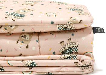 Комплект подушка+одеяло LaMillou Organic Jersey Rainbow Baby