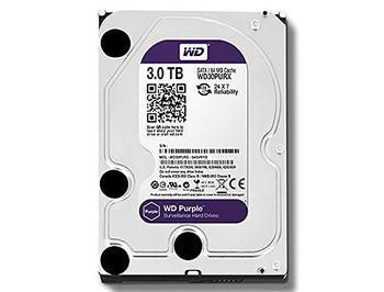 """3.5"""" HDD 3TB Western Digital Purple (Surveillance HDD) WD30PURZ, 5400 RPM, SATA3 6GB/s, 64MB (hard disk intern HDD/внутренний жесткий диск HDD)"""