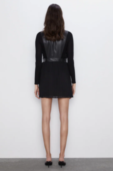 Платье ZARA Чёрный 8372/249/800