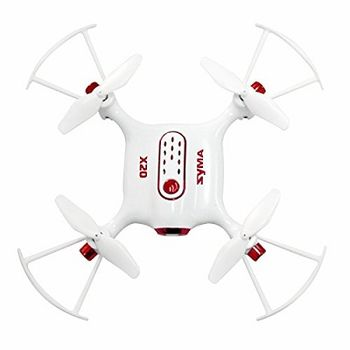 Drone Syma X20-S mini RC, Remote Control: 2.4GHz Wireless Remote Control, Battery: 3.7V 180mAh lithium-ion (built-in), Flying Time: 4~5mins, Charging Time.: less than 50 minutes