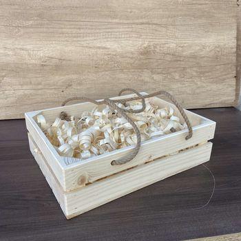 купить Деревянный ящик  c ручками 25*35*9 в Кишинёве