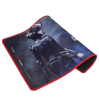 MARVO G15, Gaming Mouse Pad, Dimensions: 350 x 255 x 4 mm, Material: rubber base + microfiber, Stitched edges
