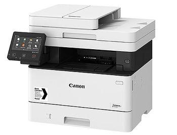 Canon i-Sensys MF443dw Mono Printer/Copier/Color Scanner, A4, Duplex, Duplex ADF(50-sheets), WiFi, Network Card, 1200x1200 dpi with IR (600x600dpi), 38 ppm, 1GB, PostScript, USB 2.0, Cartridge 057 (3100p.)/057H (10000p.),