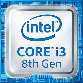 Intel® Core™ i3 8100, S1151, 3.6GHz (4C/4T), 6MB Cache, Intel® UHD Graphics 630, 14nm 65W, Box