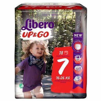 cumpără Libero Chiloţei UPGO 7, 16-26kg 18 buc. în Chișinău