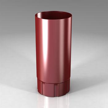 купить Труба Scandic L=1000 mm (87 mm)  Цвет - Бордовый в Кишинёве