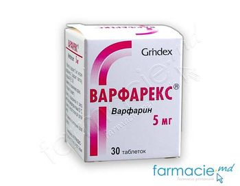 купить Warfarex®  comp. 5mg N30 (anticoagulant) в Кишинёве