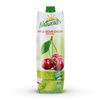 Naturalis нектар яблоко-вишня 1 Л