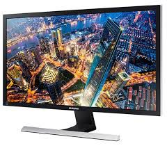 "купить ""23.5"""" SAMSUNG """"U24E590D"""", G.Black/Blue (PLS, 4K-UHD 3840x2160, 4ms, 300cd, LED Mega-DCR, HDMI+DP) (23.5"""" PLS W-LED, 4K-UHD 3840x2160, 4ms (GtG), 300 cd/m², Mega ∞ DCR (1000:1), 16.7M, 178°/178° @CR>10, Display Port + 2x HDMI, HDMI Audio-In, Headphone-Out, External Power Adapter, Fixed Stand T-Sape (Tilt -2/+20°), Magicbright, Magicupscale, Eco saving plus, Eye saver mode, Flicker free, Game mode,  Glossy-Black and Light Blue Touch Of Color T-shape Stand)"" в Кишинёве"