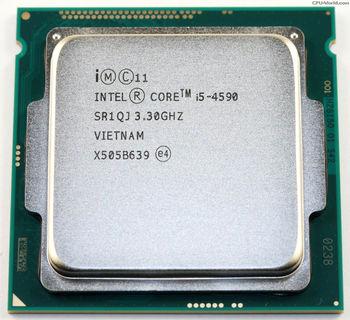 Intel® Core™ i5 4590, S1150, 3.3-3.7GHz, 6MB L3, Intel® HD Graphics 4600, 22nm 84W, tray