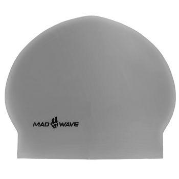 Шапочка для плавания Solid Madwave M0565 (латекс) (571)
