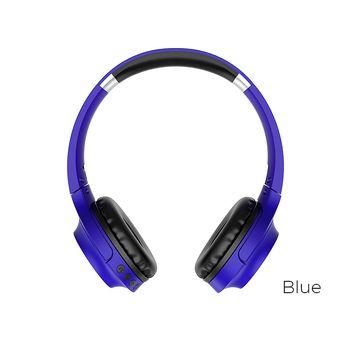 купить Наушники wireless Borofone BO6 Poise Rhyme , Blue в Кишинёве
