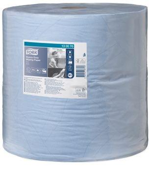 Протирочная бумага 430 W1, 2сл., 340м, 34x36.9, 1000 листов, Голубой, Advanced