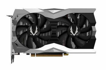 ZOTAC GeForce RTX 2060 AMP! Edition 6GB DDR6, 192bit, 1800/14000Mhz, Dual Fan / IceStorm 2.0, 1xHDMI, 3xDisplayPort, USB Type-C, FireStorm, White LED lighting, Premium Pack
