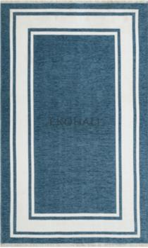 Ковёр ручной работы Noa Kilim NK 06 Blue White