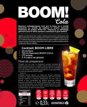 Naturalis BOOM! Cola