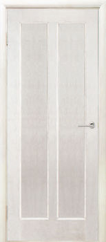 Дверь ДИВА белый ясень глухая