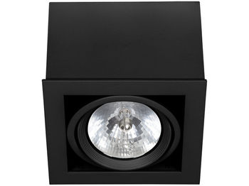 купить Светильник BOX черн 1л 6457 в Кишинёве