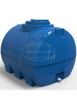 купить Емкость  500 л  горизонтальная, овальная (синяя) + штуцер ½  98x85x85 (0,71m3) в Кишинёве