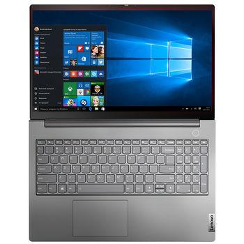 "Laptop 15.6"" Lenovo ThinkBook 15 G3 ACL Mineral Grey, AMD Ryzen 7 5700U 1.8GHz-4.3GHz/16GB PC4-25600/SSD 512GB/AMD Radeon Graphics/WiFi  802.11ax/Bluetooth/HDMI/Gbit Ethernet/ Card Reader/ HD Webcam/ Fprint/ Illum Keyb/ 15.6"" IPS FHD (1920x1080) Non-glare/No OS"