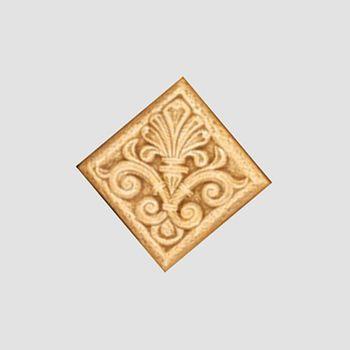 Keros Ceramica Декор Inserto Odisea Crema 9x9см