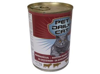 """cumpără Piko Pet """"Pet Daily Cat"""" с говядиной, для кошек, 415g în Chișinău"""